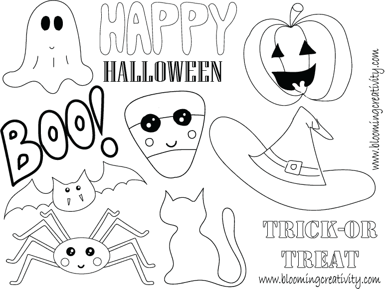 Halloween Shrinky Dink Printable
