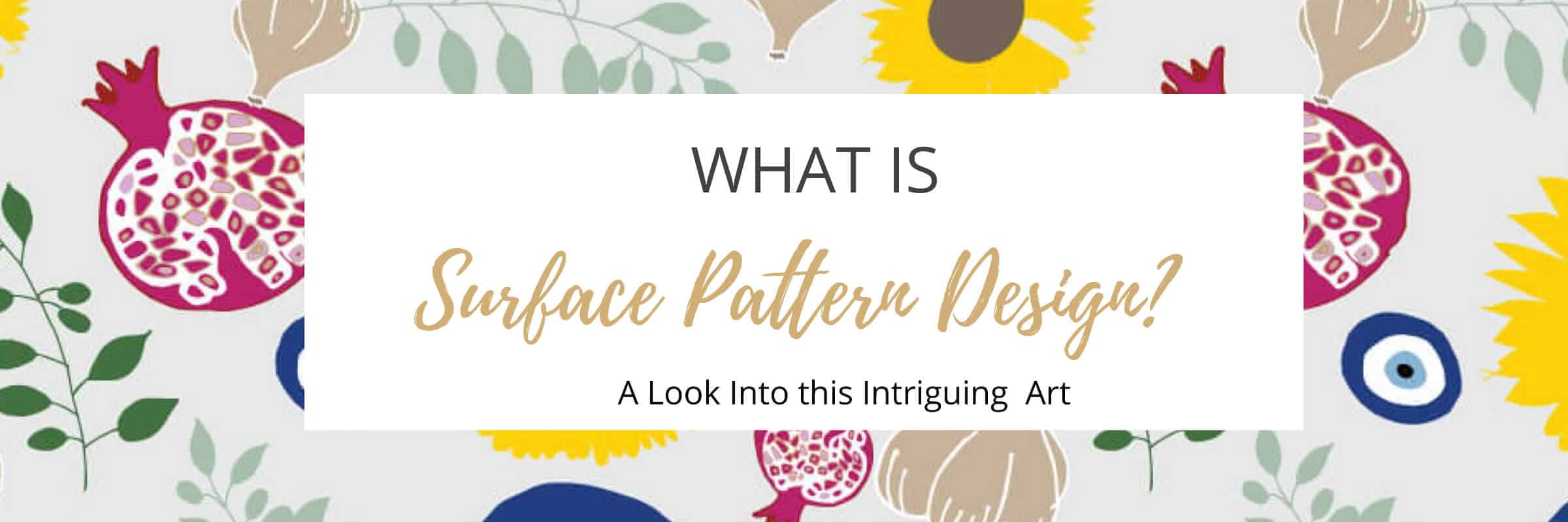 What is Surface Pattern Design Slider Image with Mediterrean Surface Pattern